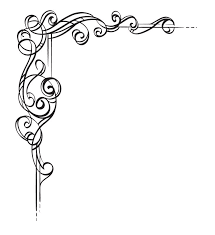 Scroll Border Designs Scrollwork Borders For Paper Border Design Girly Skull