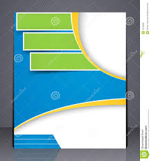 free magazine layout template layout business brochure template or magazine co stock vector