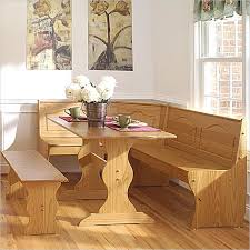SpaceSaving Corner Breakfast Nook Furniture Sets BOOTHS
