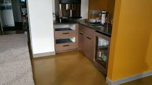 Stained Concrete Kitchen Floor Kitchen Floor Stained Concrete Floor Polished Concrete Floor