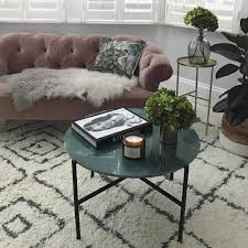 marble living room table. Marble Living Room Tables Awesome Pink Sofa Berber Rug And Coffee Table With Plants M