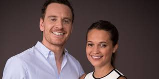 Light shines on Michael Fassbender Alicia Vikander romance