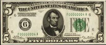 Confederate Money Value Chart Old Five Dollar Bills Values And Pricing Sell Old Currency