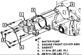 buick water pump i have to pull the motor mount disconnect battery ground cable and drain cooling system
