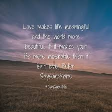 Beautiful Meaningful Quotes Best Of Meaningful Quotes About Love QUOTES OF THE DAY