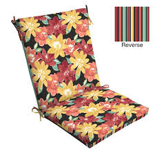 Outdoor Dining Chair Cushions With Ties