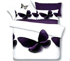 purple bedding king erfly purple bedding set queen size quilt duvet cover bed in a bag