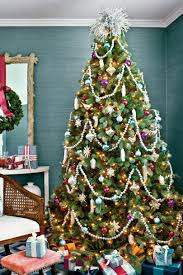 Blue Christmas Christmas Tree Decorations