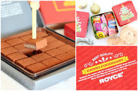 royce chocolate personalised wrapping on your nama chocolate and special gifts selection
