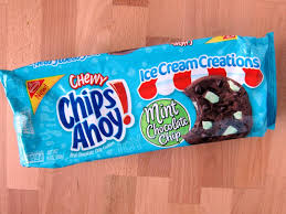 chips ahoy gooey chocolate chip cookies. Plain Chips Review Nabisco  Mint Chocolate Chip Chewy Chips Ahoy Cookies To Gooey P