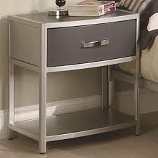 Dazzling Modern Metal Nightstands Elegant With Drawers Best Interior Design  Ideas 50 Chair Full Version ...