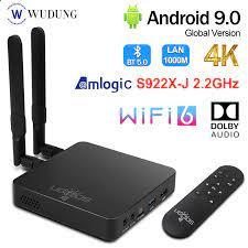 UGOOS TV Box AM6B PLUS Amlogic S922X Android 9.0 DDR4 4G 32G WiFi6 1000M  LAN Bluetooth 5.0 4K HD Media Player UGOOS AM6 Set-top Boxes