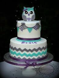 Baby Shower Cakes Owls  Party XYZOwl Baby Shower Cakes For A Girl