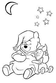 Disegni Da Colorare Winnie The Pooh Buonanotte Disegni Da Colorare