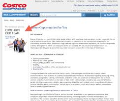 Costco Lubbock Jobs How To Apply For A Job At Costco Wholesale Bulktraveler