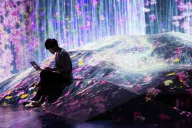 Tokyo Museum Of Light In Pictures A World Of Light Photos News Top Stories