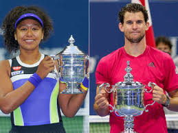 Austria's dominic thiem fought back from two sets down to stun alexander zverev and win his first grand slam title at the us open in new york city. Champions Naomi Osaka Dominic Thiem Make The Most Of Us Open Adversities Tennis News Times Of India