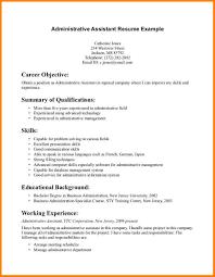 Resume Cover Letter Objective Statement Eursto Com