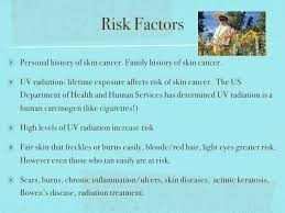 skin cancer 3 risk factors personal history of skin cancer