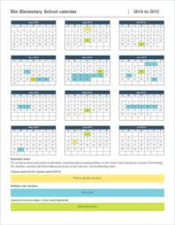 School Calendar 2015 2019 Template Create A Calendar In Word Online Word