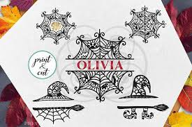 All contents are released under creative commons cc0. Halloween Spider Web Witch Hat Monogram Bundle Svg Dxf Pdf Halloween Monogram Halloween Spider Web Free Halloween