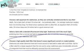 Formswift Organizational Chart Everyones An Expert Seahorse Whisperer