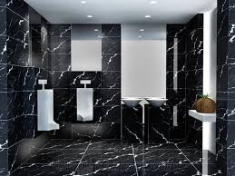 Nero Marquina Marble Bathroom Wall & Floor Covering Tiles, China Black  Marble
