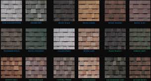 architectural shingles. Architectural Shingles Colors L