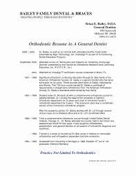 Orthodontist Resume Examples