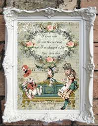 on alice in wonderland framed wall art with alice in wonderland art print alice in wonderland quote