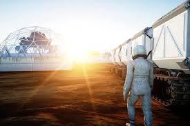 Resultado de imagen de Robot terraformando Marte