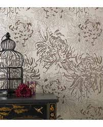 Small Picture Modern Floral Wallpaper pueblosinfronterasus