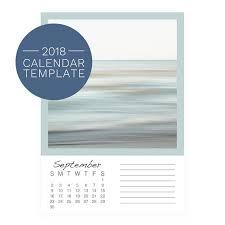 calendar template 2018 photo desk calendar 2018 calendar template 2018 5x7 calendar blank calendar diy photo calendar template