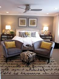 gray and beige bedroom contemporary bench idea for your home pertaining to 17
