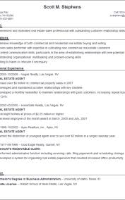 Estate Agent Sample Resume Fascinating How To Write A Resumer Formatted Templates Example