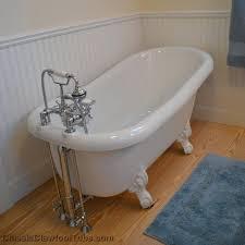 60 inch acrylic clawfoot tub acrylic slipper tub