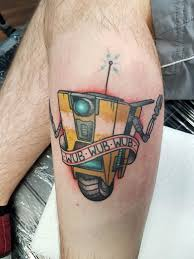 Claptrap Tattoo Done By Ali Burke At Stallions And Galleons Wales