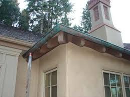 faux copper gutters. Simple Gutters Michaelu0027s Studio Faux Artistry Copper Gutters And Bay Hoods For T