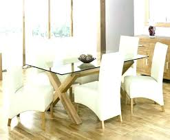 custom glass top dining table round glass top dining table sets glass wood dining table simple