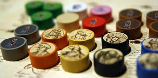 Wooden Game Tokens Simple Level Up My Game Robinson Crusoe Tokens And Stickers Board Game Quest