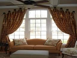 peachy curtain ideas for living room