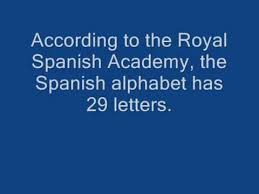 To ensure clearness during transmission and receiving of voice messages through radio gadgets and telephone signals. Spanish Alphabet Song Military Style By Barbara Macaurthur Youtube