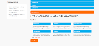 Shopify Custom Weekly Meal Plan App – Shopify Experts