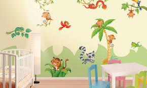Stencil muro decorare e facile : Adesivi murali per bambini stickers per camerette leostickers