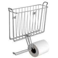 wall mount magazine rack toilet. Rebrilliant Espana Wall Mounted Magazine Rack And Toilet Paper Holder Wall Mount Magazine Rack Toilet F