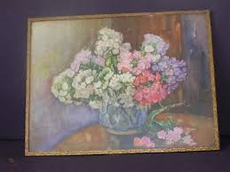 MARCELLA SMITH FLOWER PAINTING | #247351080