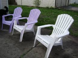 plastic patio furniture