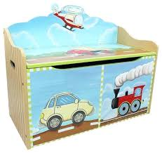 childrens wooden toy box transportation handcrafted wooden kids toy box with safety hinge