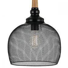 telbix alec wire mesh pendant light