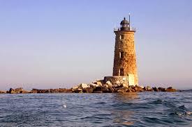 Whaleback Light Kittery Maine Whaleback New England Lighthouses A Virtual Guide
